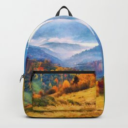 Autumn in the mountains Backpack