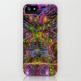 Florid Bedazzlement (abstract) iPhone Case