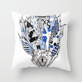 Mysteries of the Heart Throw Pillow
