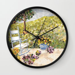 """My Front Porch"" Wall Clock"