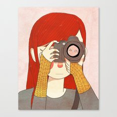 Behind The Lens Canvas Print