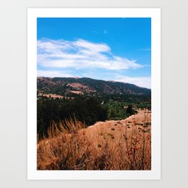 Garland Ranch Art Print