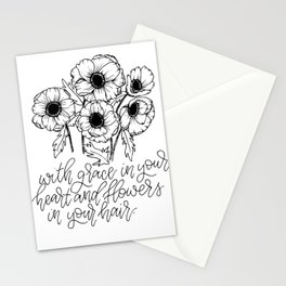 Anemonies Stationery Cards