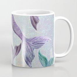 Amethyst and Teal Mermaid Tails Coffee Mug