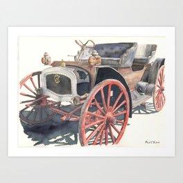 1911 International Autobuggy Art Print