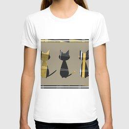 Cats in Tartan - very Scottish T-shirt