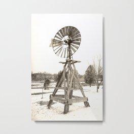 Carrie Windmill Metal Print