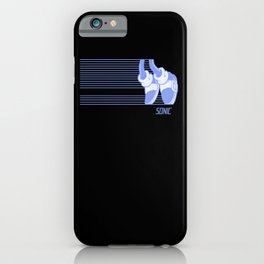 Sonic Moonwalker  iPhone Case