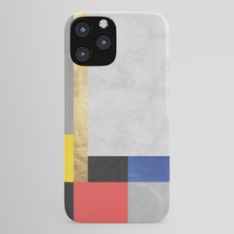 Geometric art XI iPhone Case