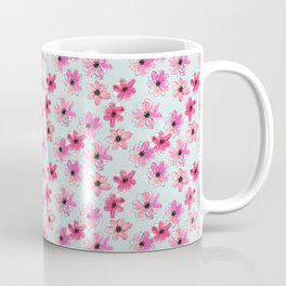 Floral hand painted pattern Coffee Mug