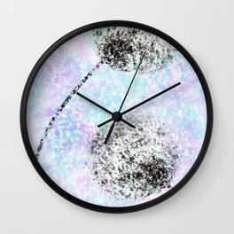 Seeing Double Dandelions Wall Clock