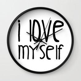 I love myself Wall Clock