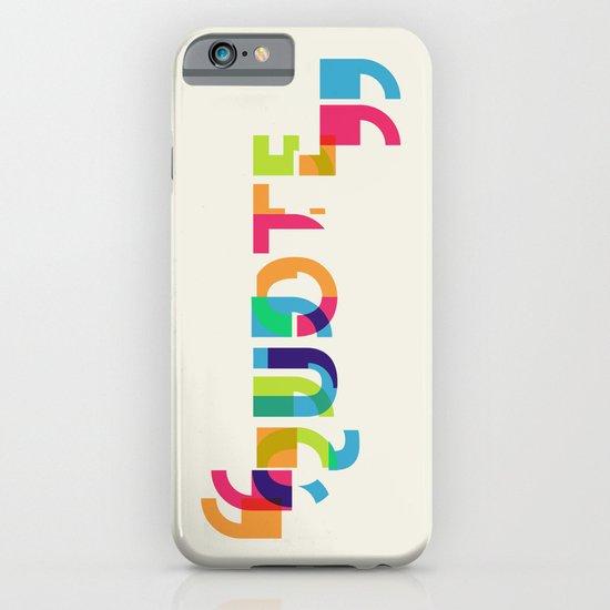 Quote iPhone & iPod Case
