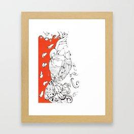 Blossoming Bodies #5 Framed Art Print
