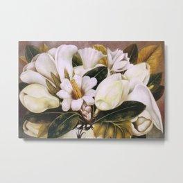 Magnolias Still Life by Frida Kahlo Metal Print