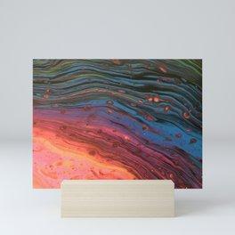 Rainbow Swirl Mini Art Print