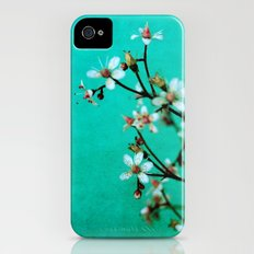 moody florets iPhone (4, 4s) Slim Case