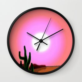 NevadaHeat Wall Clock