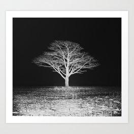 Bitter Night Art Print