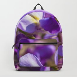 Purple flowers Backpack