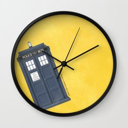 9th Doctor - DOCTOR WHO Wall Clock