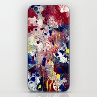 fireworks iPhone & iPod Skins featuring Fireworks by Tia Hank