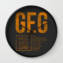 GEG II Wall Clock