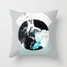 Geometric Textures 2 Throw Pillow