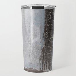 neutral abstract Travel Mug