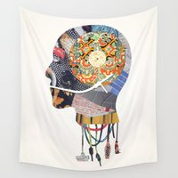 vinyl Wall Tapestries featuring Vinyl Maniac by Blaz Rojs