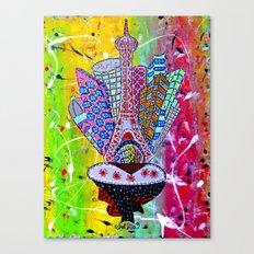 PARIS REFLECTIONS Canvas Print