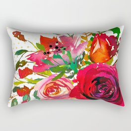 Flowers bouquet #37 Rectangular Pillow