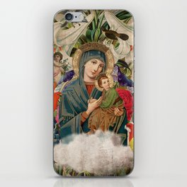 Saints Collection -- Madonna And Child iPhone Skin