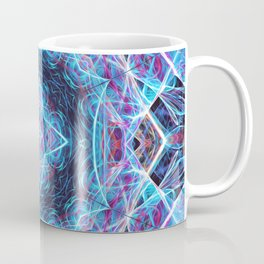 Mirror Cube Coffee Mug