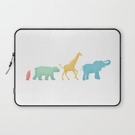 Baby Animal Silhouettes Laptop Sleeve