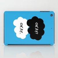 okay iPad Cases featuring Okay by D-fens