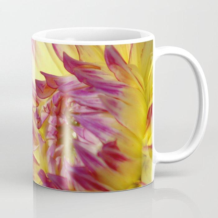 flashy dahlia flower Coffee Mug