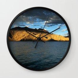 Pangong Blues! Wall Clock
