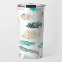The Inhabitants of the Waters of Clipperton Atoll 1 Travel Mug