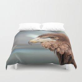 eagle brown Duvet Cover