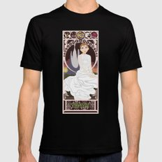 Childlike Empress Nouveau - Neverending Story MEDIUM Mens Fitted Tee Black