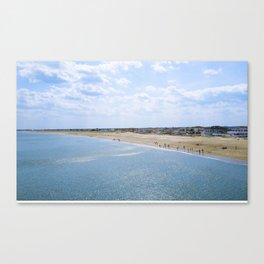 Seabrook Beach Day Canvas Print
