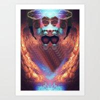 prometheus Art Prints featuring Prometheus. by BUMCHAIII