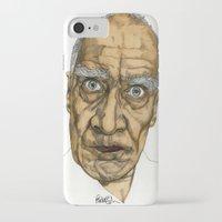allyson johnson iPhone & iPod Cases featuring Wilko Johnson by Paul Nelson-Esch Art