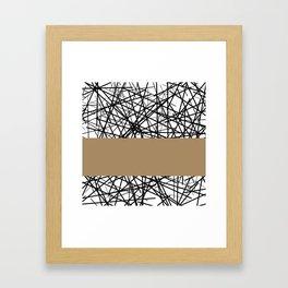 kava Framed Art Print