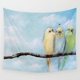One Spring Day Wall Tapestry