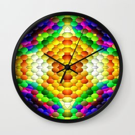 Sunbursting... Wall Clock