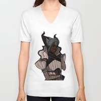 dragon age inquisition V-neck T-shirts featuring Dragon Age Inqusition Vivienne by Lemonade Stand Of Life
