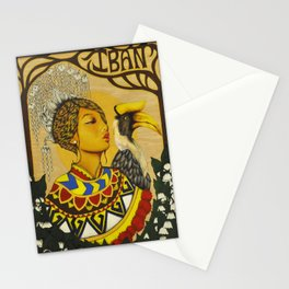 The Iban Girl Stationery Cards