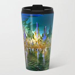 Underwater Sea Garden Metal Travel Mug